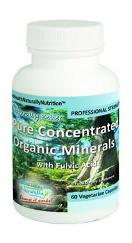 Concentrated Organic Minerals (Capsules)