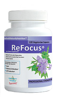 ReFocus Vinpocetine Supplement