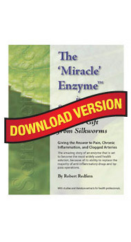 Serrapeptase, The Miracle Enzyme eBook